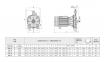 одноступенчатый муфтовый моноблочный насос Speroni серии СМ 53 1