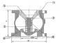 Клапан обратный подпружиненный фланцевый GS Dy150 тип 04 0