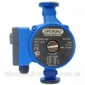 Насосы для отопления и кондиционирования Speroni SCR 25/40-180