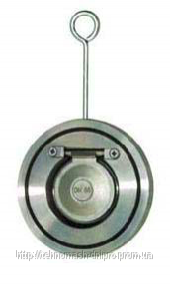 Клапан обратный межфланцевый Dy 250