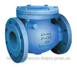 Клапан обратный фланцевый GS Dy80 тип 05