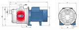 Многоступенчатый насос 3CRm 100 1