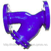 Фильтр осадочный фланцевый Ду 250